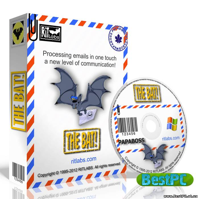 5 The Bat Professional Edition 5.8.8. Дата 2013 Платформa Windows.