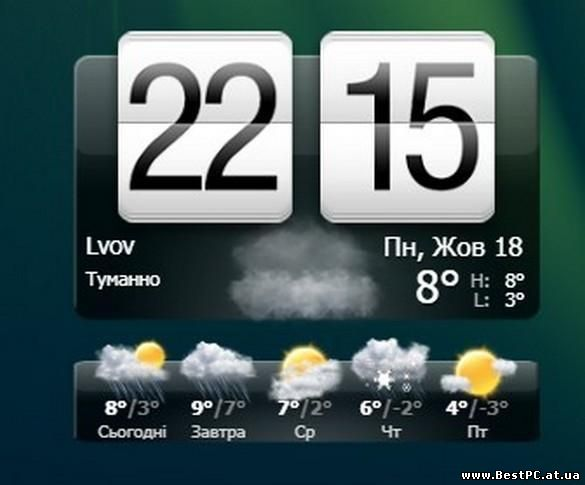 Погоду htc